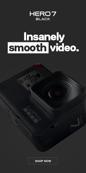 HERO7 Insanely Smooth Video