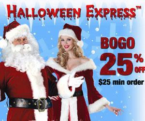 BOGO 25% Off at Halloween Express