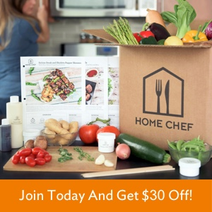 Home Chef $30 Off Coupon Code