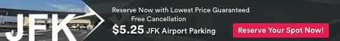 JFK Airport Parking as low as $5.25