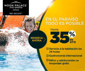 Vacaciones con Todo Incluido en The Grand at Moon Palace.