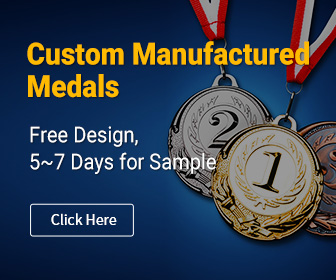 Custom Manufactured Medals