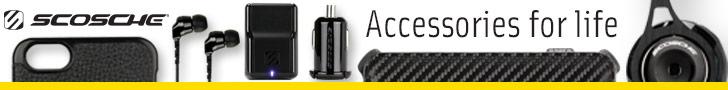 728x90 Scosche - Accessories for Life
