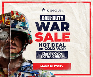 Kinguin - CoD: Cold War, Hot Price! ??️ – 300×250
