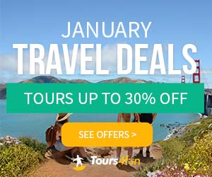 January Travel Guide is Here! Get up to 30% off tours at Tours4fun.com!