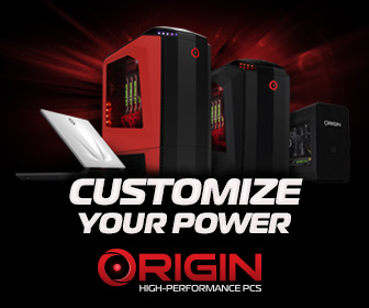 Customize your power with Origin PC