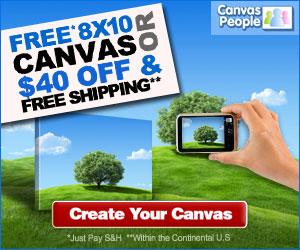 FREE PHOTO CANVAS