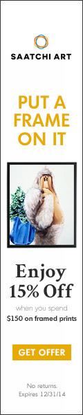 15% Off $150 Framed Prints - Saatchi Art