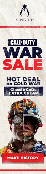 KINGUIN - CoD: Cold War, Hot Price! ??️ – 160×600