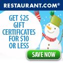 Holiday's at Restaurant.com