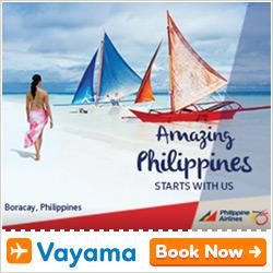 Vayama - Philippine Airlines: Nonstop flight to Manila
