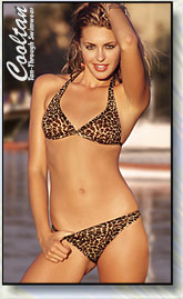 Cooltan Tan Through Womens 2pc Swimwear