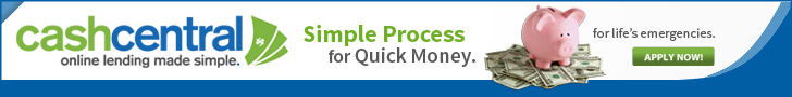 Simple Process for Quick Money, Visit Cash Central Today!