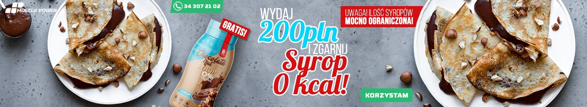 syrop gratis