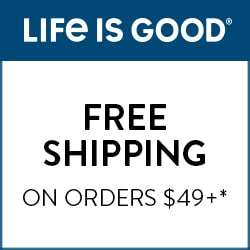 Life is good. Free shipping and returns