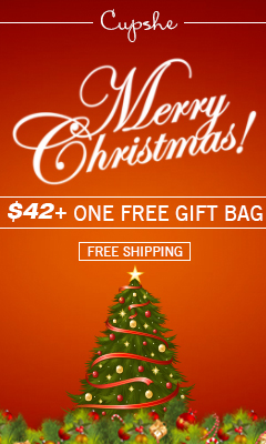 Merry Christmas! $42+One Free Gift Bag! Free Shipping!