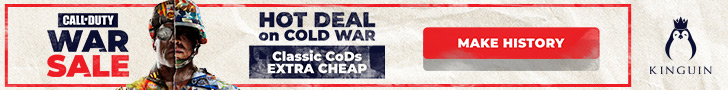 Kinguin - CoD: Cold War, Hot Price! ??️ – 728×90