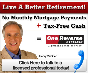 No monthly mortgage payments + Tax-Free Cash