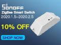 10% OFF for SONOFF ZigBee Smart Switch