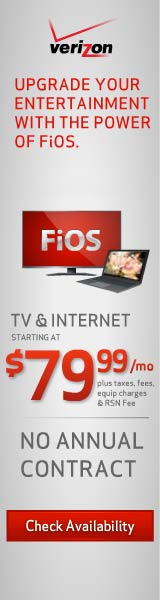 Verizon FiOS TV+Internet for .99/mo for 1 year