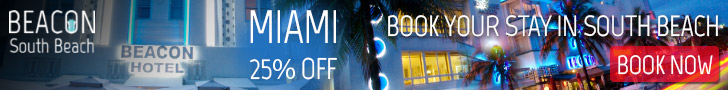 Beacon Hotel Miami - Stay Longer, Save More - 25% Off