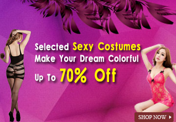 Up to 70% OFF Sexy Costumes