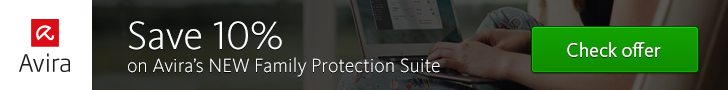 Get 10% off Family Protection Suite