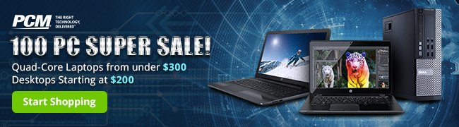 100 PC SUPER SALE! 650x180