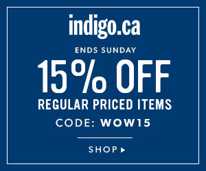 15% off select reg.-priced items with code WOW15