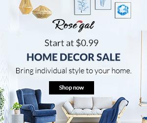 Rosegal Home Decor Sale
