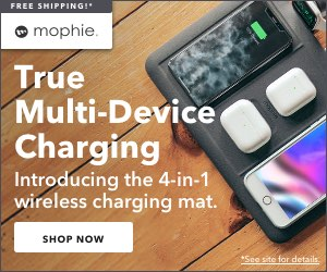 True Multi-Device Charging: Introducing the mophie 4-in-1 Wireless Charging Mat! Shop Now!