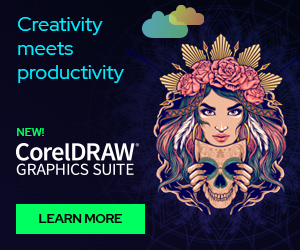 Corel Corporation - G&P_DrawGraphicsSuite 2020 300X250