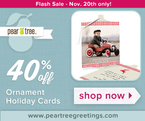 40% Off Ornament Holiday Cards