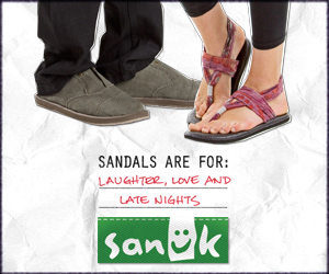 Shop Sanuk.com Today!