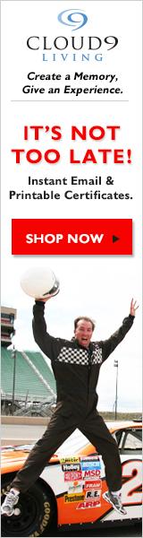Last Minute Gift Ideas! (Stock Car Image)