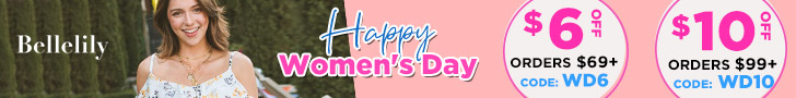 Women's Day Sale $6 Off Orders $69+, Code WD6