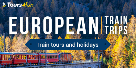 Europe Train Tours: Up to 20% Off