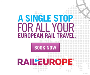 A single stop fall your European Rail Travel.