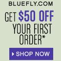 $50 off at Bluefly.com!