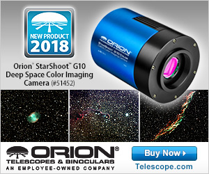 Elevate Your Astrophotography Skills with Orion�s New StarShoot Camera