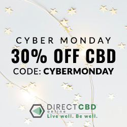 CYBER MONDAY SAVINGS on CBD Products