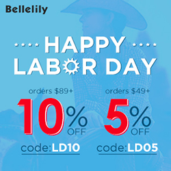 Bellelily Labor Day Promotions
