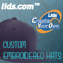 Custom Embroidered Hats from lid.com™!