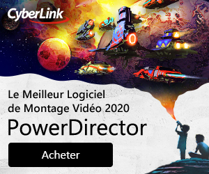 Nouveauté CyberLink : Duo PowerDirector & PhotoDirector