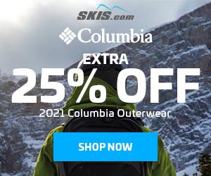 Columbia 25% Off