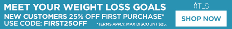 TLS Weight Loss Solutions - New Customers get 25% OFF with code FIRST25OFF.