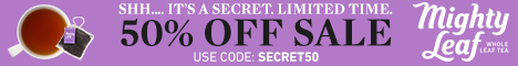 Secret Sale! Save 50% on Clearance Items with code SECRET50.