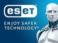 120x89 ESET Logo with Enjoy Safer Technology