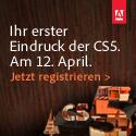 Adobe CS5 Launch Announcement
