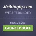 Strikingly - Get 10% off for the best website builder
